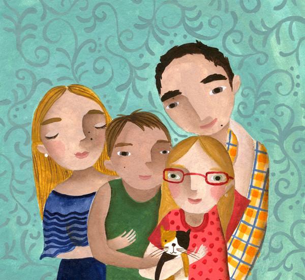 Selfie Familia Valeria Cis low